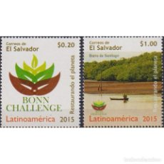 Sellos: SV2722 SALVADOR 2015 MNH THE BONN CHALLENGE - RESTORING THE WORLD'S DEFORESTED AND DEGRADED LANDS. Lote 293408958