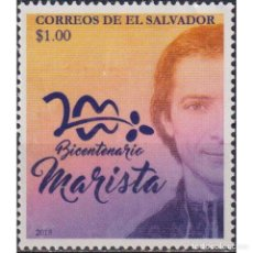 Sellos: SV2779 SALVADOR 2018 MNH THE 200TH ANNIVERSARY OF MARY SHELLEY FRANKENSTEIN. Lote 293410358