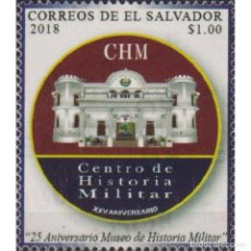 Sellos: SV2789 SALVADOR 2018 MNH THE 25TH ANNIVERSARY OF THE MUSEUM OF MILITARY HISTORY. Lote 293410383