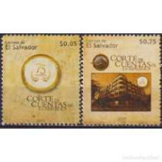 Sellos: SV2727 SALVADOR 2015 MNH THE 75TH ANNIVERSARY OF THE SALVADORIAN COURT OF AUDIT. Lote 293408993