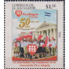 Sellos: SV2803 SALVADOR 2019 MNH THE 50TH ANNIVERSARY OF THE FAITH AND JOY ORGANIZATION. Lote 293409928