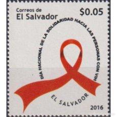 Sellos: SV2736 SALVADOR 2016 MNH STOP AIDS. Lote 293410088