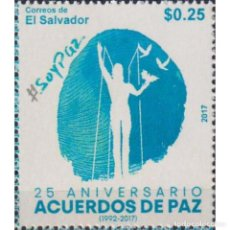 Sellos: SV2744 SALVADOR 2017 MNH THE 25TH ANNIVERSARY OF THE PEACE AGREEMENTS. Lote 293410368