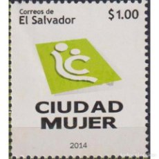 Sellos: SV2709 SALVADOR 2014 MNH WOMENS CITY CENTERS. Lote 293410518