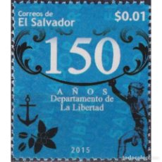Sellos: SV2732 SALVADOR 2015 MNH 150TH ANNIVERSARY OF THE PORT OF L A LIBERTAD. Lote 293410523