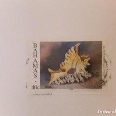 Timbres: AÑO 1996 BAHAMAS SELLO USADO CON PAPEL. Lote 294145168