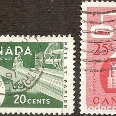 Sellos: CANADA SERIE ANO 1956 SERIE YVERT 2890. Lote 294276198