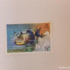 Sellos: DOMINICA SELLO USADO. Lote 294812683
