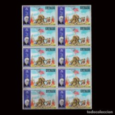 Sellos: GRENADA 1970 SG 398 ½ C ROOSEVELT WORLD WAR II.MNH.BLQ10. Lote 294863953