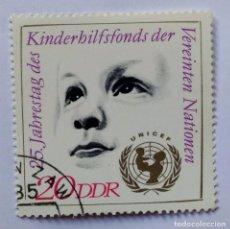 Sellos: ALEMANIA SELLO 25 ANIVERSARIO UNICEF. Lote 295478313