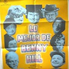 Cine: 'LO MEJOR DE BENNY HILL'. VERSIÓN EN CINES DE LA FAMOSA SERIE DE T.V.. Lote 9852341