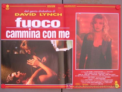 Cine: SV15 TWIN PEAKS DAVID LYNCH SET DE 6 POSTERS ITALIANO 47X68 - Foto 3 - 6972436
