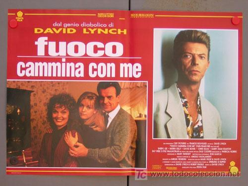 Cine: SV15 TWIN PEAKS DAVID LYNCH SET DE 6 POSTERS ITALIANO 47X68 - Foto 4 - 6972436