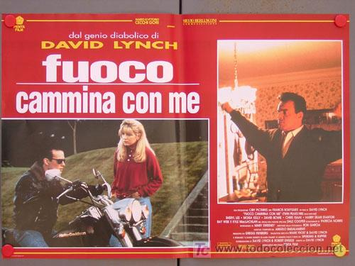 Cine: SV15 TWIN PEAKS DAVID LYNCH SET DE 6 POSTERS ITALIANO 47X68 - Foto 6 - 6972436