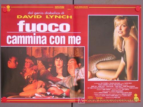 T04742 TWIN PEAKS DAVID LYNCH SET DE 6 POSTERS ITALIANO 47X68 (Cine - Posters y Carteles - Series TV)