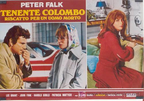 Cine: ZL72D COLOMBO RANSOM FOR A DEAD MAN SERIE TV PETER FALK SET DE 6 POSTER ITALIANOS 47X68 - Foto 4 - 11817993