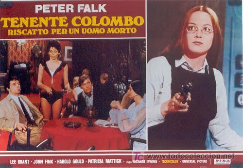 Cine: ZL72D COLOMBO RANSOM FOR A DEAD MAN SERIE TV PETER FALK SET DE 6 POSTER ITALIANOS 47X68 - Foto 3 - 11817993