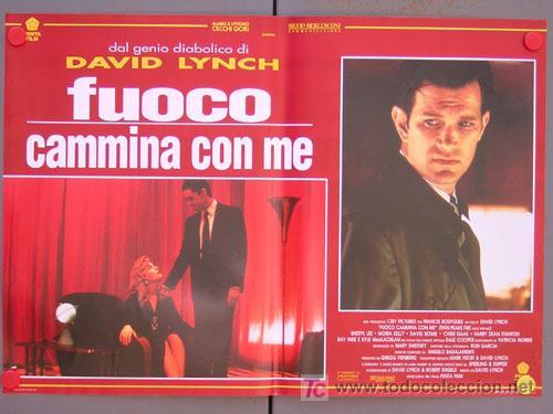 Cine: T04742 TWIN PEAKS DAVID LYNCH SET DE 6 POSTERS ITALIANO 47X68 - Foto 4 - 6182569