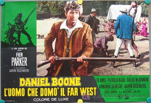 Cine: VF31D DANIEL BOONE FESS PARKER SET 10 POSTERS ORIGINAL ITALIANO 47X68 - Foto 10 - 20150938