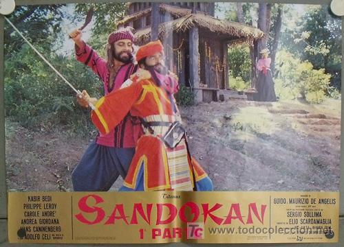 Cine: KK53D SANDOKAN KABIR BEDI SERIE TV EMILIO SALGARI SET 14 POSTERS ORIGINAL ITALIANO 47X68 1 - Foto 11 - 20272579