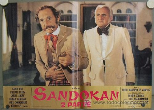 Cine: KK54d SANDOKAN KABIR BEDI SERIE TV EMILIO SALGARI SET 14 POSTERS ORIGINAL ITALIANO 47X68 2 - Foto 11 - 20272578
