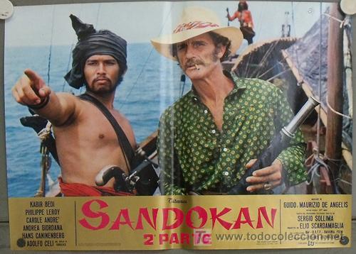 Cine: KK54d SANDOKAN KABIR BEDI SERIE TV EMILIO SALGARI SET 14 POSTERS ORIGINAL ITALIANO 47X68 2 - Foto 3 - 20272578