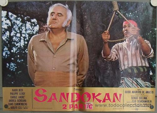 Cine: KK54d SANDOKAN KABIR BEDI SERIE TV EMILIO SALGARI SET 14 POSTERS ORIGINAL ITALIANO 47X68 2 - Foto 5 - 20272578