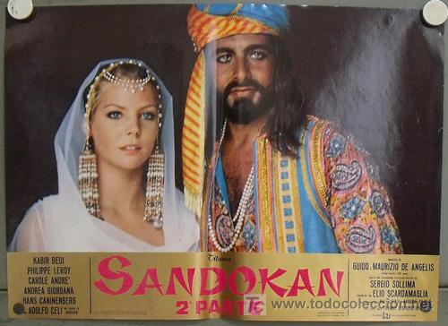 Cine: KK54d SANDOKAN KABIR BEDI SERIE TV EMILIO SALGARI SET 14 POSTERS ORIGINAL ITALIANO 47X68 2 - Foto 2 - 20272578