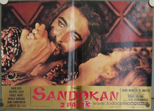 Cine: KK54d SANDOKAN KABIR BEDI SERIE TV EMILIO SALGARI SET 14 POSTERS ORIGINAL ITALIANO 47X68 2 - Foto 4 - 20272578