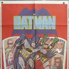 Cine: TT96D BATMAN ADAM WEST COMIC TV SERIES POSTER ORIGINAL DEL ESTRENO 70X100. Lote 147916850