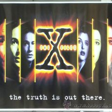 Cinema: E742 EXPEDIENTE X FILES DAVID DUCHOVNY GILLIAN ANDERSON POSTER ORIGINAL 70X100. Lote 27821573