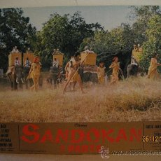 Cine: SANDOKAN 1ª, PARTE- FOTOCROMO GRAN TAMAÑO, MEDIDAS 64,5 X 44,5 CM.. Lote 30374659