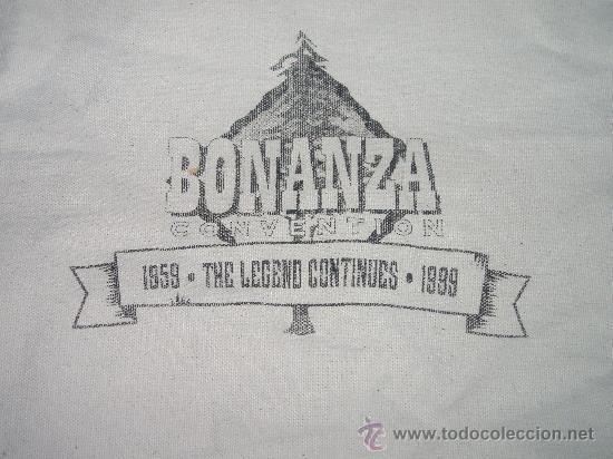 Cine: BONANZA. 2 BOLSAS ORIGINALES DEL RANCHO DE LA PONDEROSA Y DE LA CONVENCION DEL 40 ANIVERSARIO +2 REG - Foto 4 - 30863555