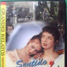 Cine: SERIE DE GRANDES RELATOS, SENTIDO Y SENSIBILIDAD EN 2 DVD. Lote 35527160