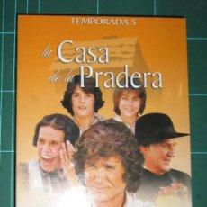 Cine: LA CASA DE LA PRADERA QUINTA TEMPORADA DVD 6 DVD. Lote 35733794