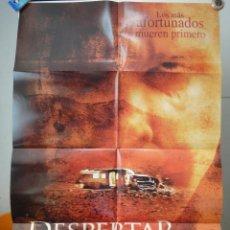 Cine: POSTER ORIGINAL DESPERTAR DEL DIABLO TED LEVINE KATHLEEN QUINLAN ALEXANDRE AJA 2006 DOBLE LADO FOX. Lote 39905102