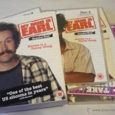 Cine: MY NAME IS EARL TEMPORADA 1 DVD SERIE AUDIO Y SUBTITULOS EN INGLES. Lote 47216544