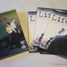 Cine: LIFE TEMPORADA 1 ( DAMIAN LEWIS ) DVD SERIE AUDIO EN INGLES SIN SUBTITULOS. Lote 47283144