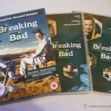 Cine: BREAKING BAD TEMPORADA 2 ( BRYAN CRANSTON ) DVD SERIE AUDIO Y SUBTITULOS EN INGLES. Lote 47283206