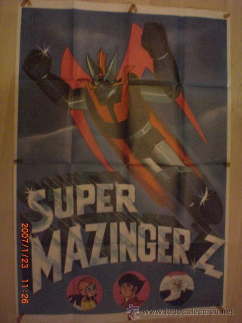 CARTEL DE SUPER MAZINGER Z (Cine - Posters y Carteles - Series TV)