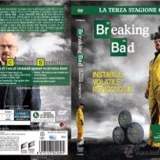 Cine: BREAKING BAD 3ª TEMPORADA DVD - 4 DISCOS - AUDIO: INGLÉS Y CASTELLANO - SUB: INGLÉS Y CASTELLANO. Lote 93137403