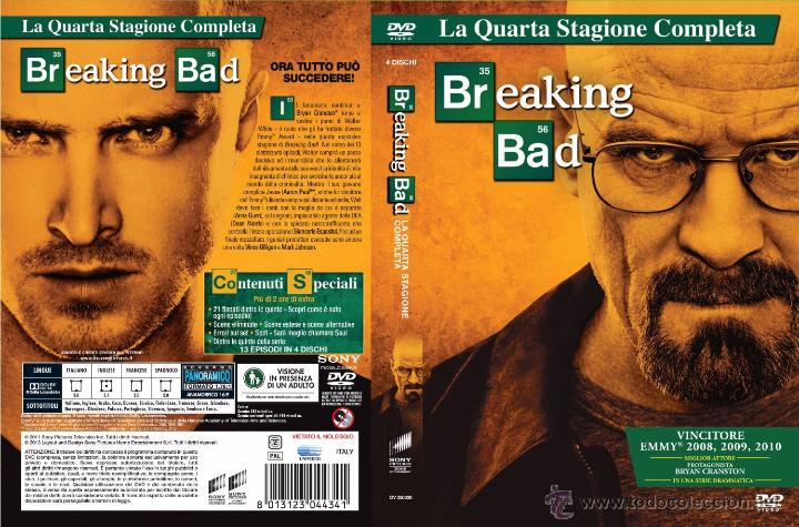 breaking bad 4ª temporada dvd - 4 discos - audi - Comprar Carteles y ...