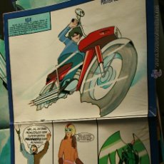 Cine: MAZINGER Z POSTER REVISTA SUPER POP ORIGINAL. Lote 53677520