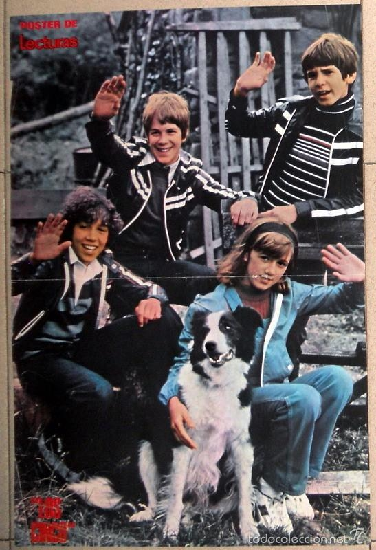 Poster los cinco revista lecturas serie tv te comprar - Television anos 70 ...