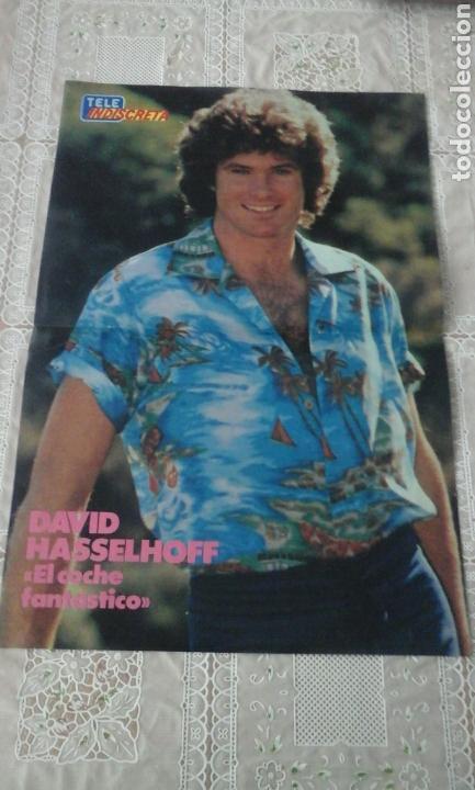 POSTER DAVID HASSELHOFF.N2. TELE INDISCRETA (Cine - Posters y Carteles - Series TV)