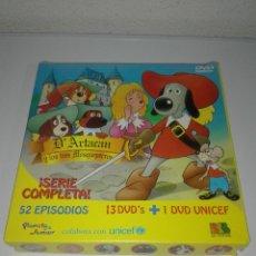 Cine: D' ARTACAN Y LOS TRES MOSQUETEROS SERIE COMPLETA 14 DVD DESCATALOGADA. Lote 88850608