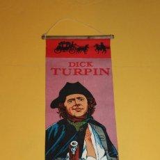 Cine: DICK TURPIN POSTER ANTIGUO EN TELA - AÑOS 70/80. Lote 89253692