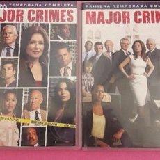 Cine: DVD SERIES, MAJOR CRIMES, TEMPORADAS 1 Y DOS COMPLETAS DE LA SERIE POLICIACA Y DE ACCION.. Lote 98046727