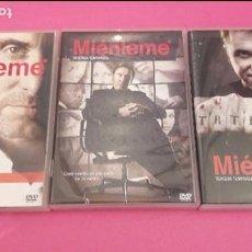 Cine: DVD SERIES,MIENTEME 3 TEMPORADAS COMPLETAS DE LA SERIE POLICIACA Y DE SUSPENSE.. Lote 98046903