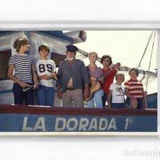 Cine: IMAN ACRILICO NEVERA - VERANO AZUL LA DORADA 1ª. Lote 98595463